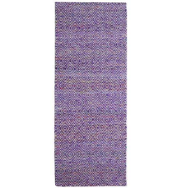 Agrippa Grape Purple Area Rug by Imagine Rugs