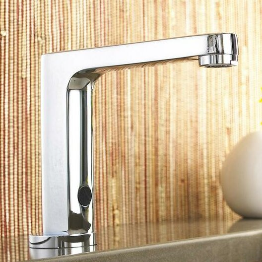 Selectronic Deck Mounted Bathroom Faucet by Americ