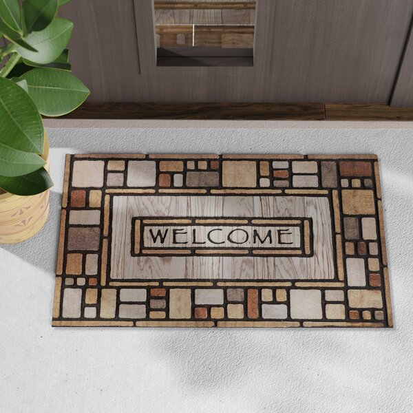 Croll Drifted Nature Welcome Doormat by Loon Peak