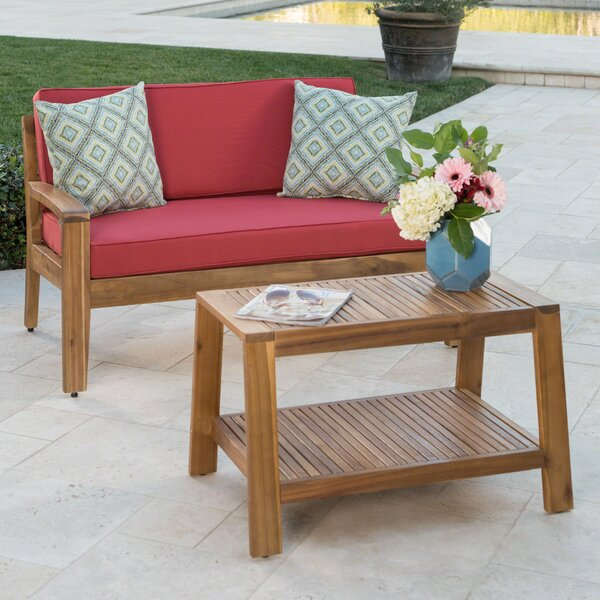 Bellows 2 Piece Sofa Set with Cushions by Sol 72 Outdoor