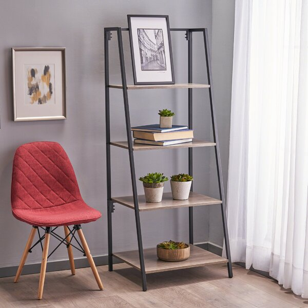 Dudek Industrial Etagere Bookcase by Williston Forge