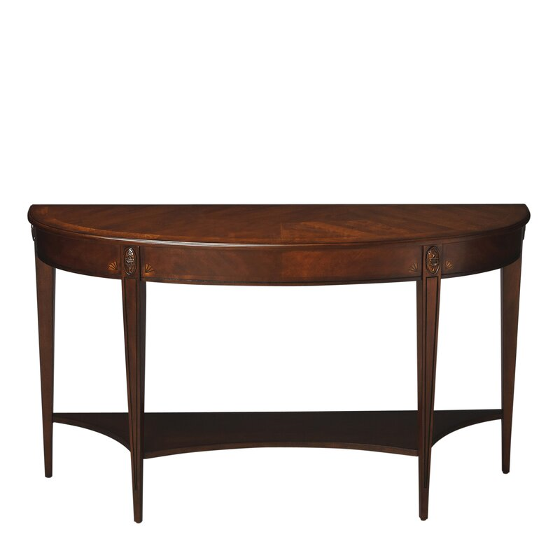 Rochele Demilune Console Table