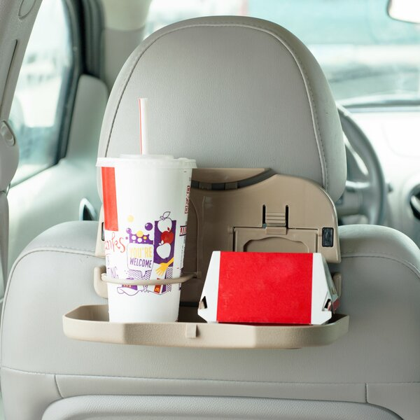 Mobile Backseat Folding Dinner Tray by Trademark Global
