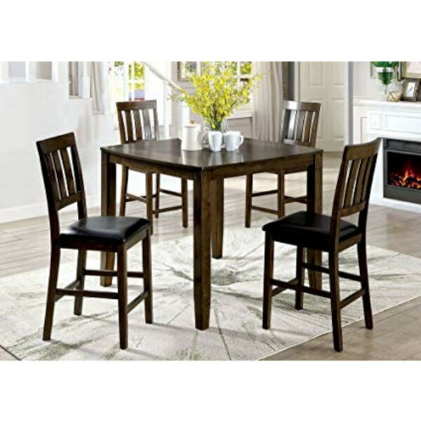 Pisano 5 Piece Pub Table Set by Charlton Home