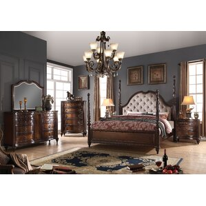 Wentzel Four Poster Configurable Bedroom Set by Astoria Grand