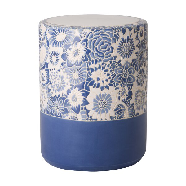 Fleur Stool by Emissary Home and Garden