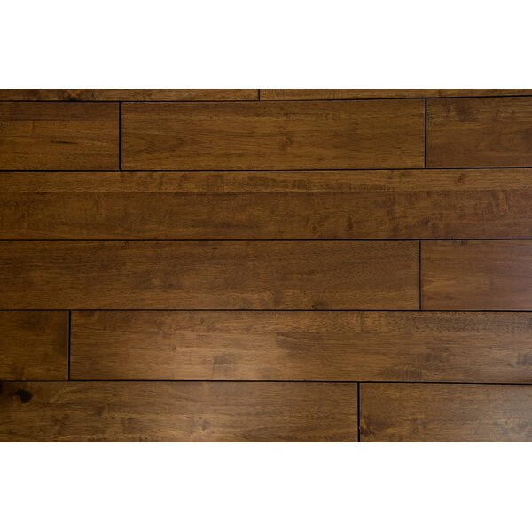 Tropea 4-1/2 Solid Hardwood Flooring in Caramel by Branton Flooring Collection