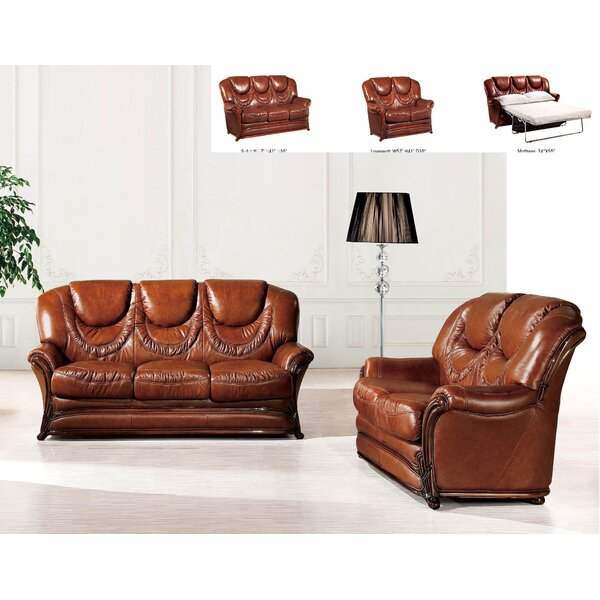 2 Sleeper Piece Living Room Set by Noci Design