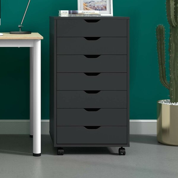 Great Deals Lelusa 7 Drawer Media Chest