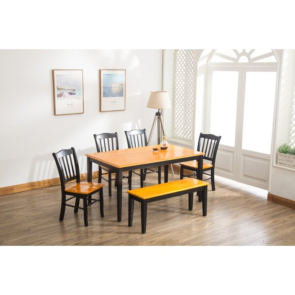 Weldy 6 Piece Dining Set by Red Barrel Studio
