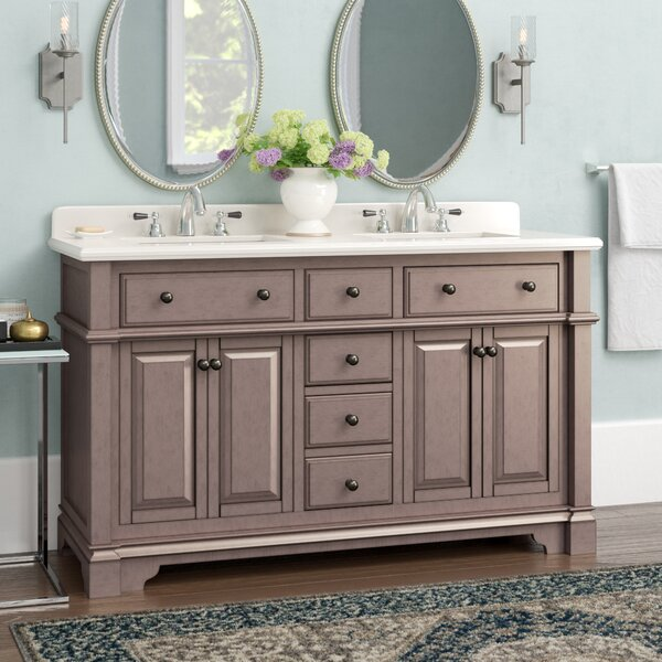 Essie 60 Double Vanity Set with Backsplash by Darby Home Co