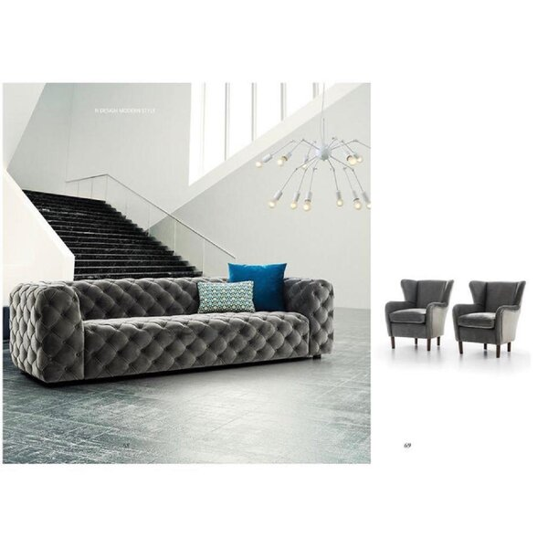 Beautiful Modern Keil Sofa by Everly Quinn by Everly Quinn