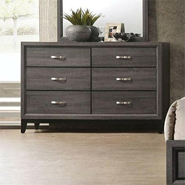 Steubenville 6 Drawer Double Dresser by Ivy Bronx