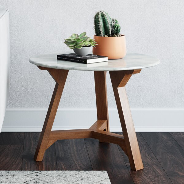 Colford End Table by Modern Rustic Interiors