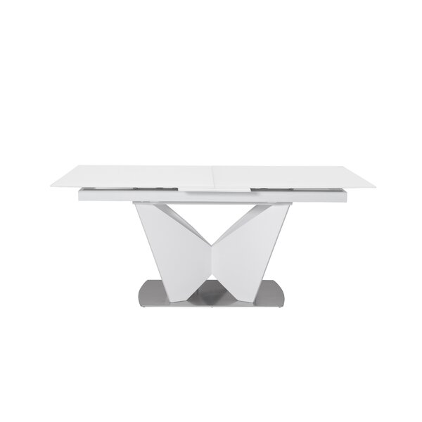 Cull Extendable Dining Table by Orren Ellis