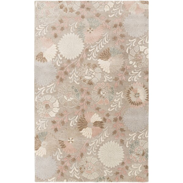 Keith Floral Area Rug by Darby Home Co