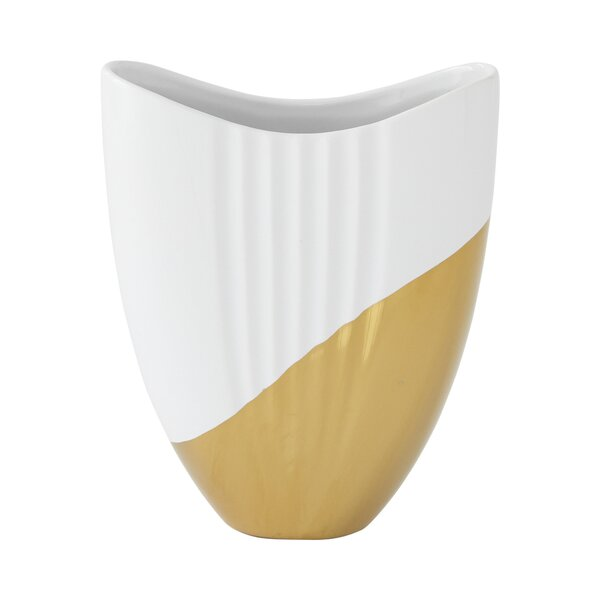Dipped Oval Vase by DwellStudio