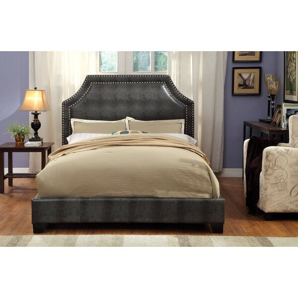 Bailey Upholstered Platform Bed by Hokku Designs