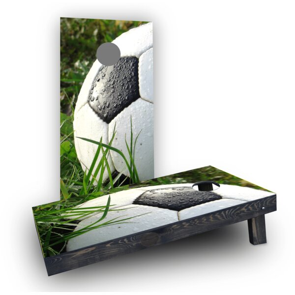 Soccer Ball (Set of 2) by Custom Cornhole Boards