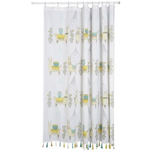 Bargain Llamarama 100% Cotton Shower Curtain By Danica Studio