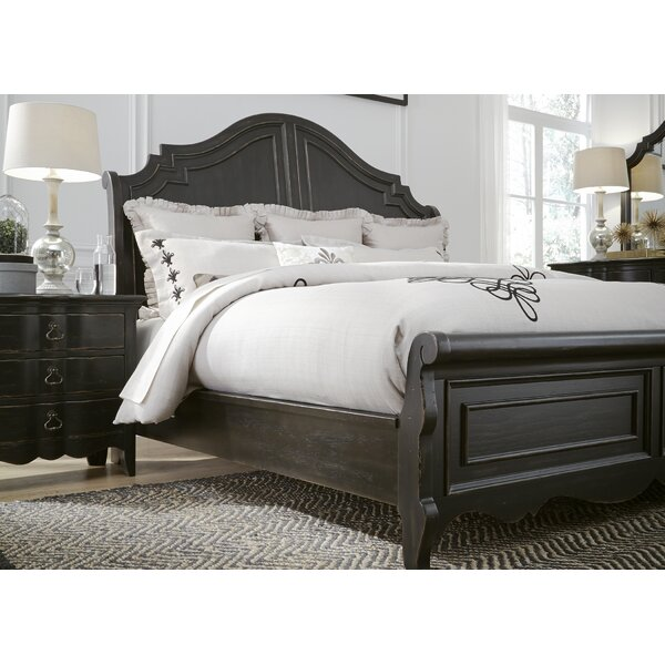 Bartow Sleigh Bed by Three Posts