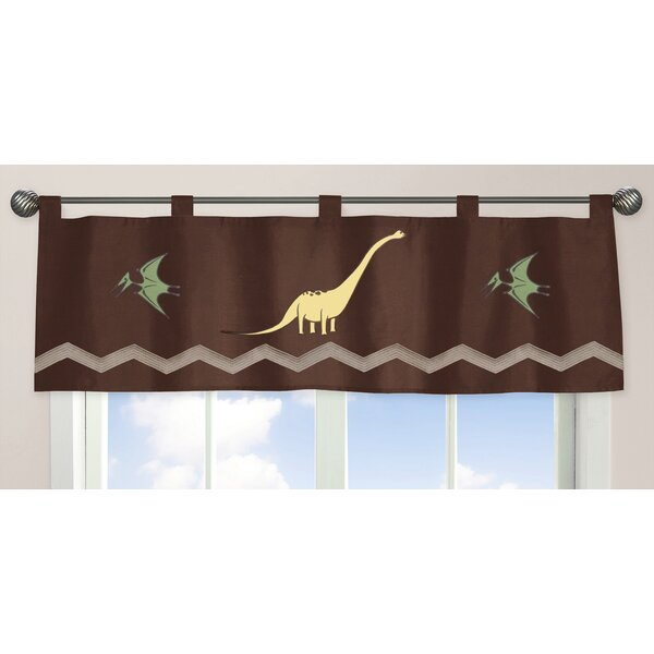 Dinosaur Land 84 Curtain Valance by Sweet Jojo Designs