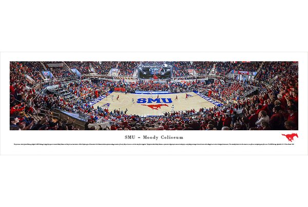 NCAA Southern Methodist University Photographic Print by Blakeway Worldwide Panoramas, Inc