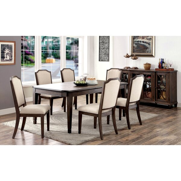 Harris 7 Piece Extendable Dining Set by A&J Homes Studio