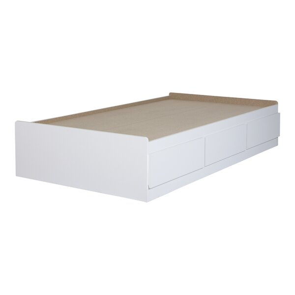 Fusion Twin Mate's & Captain's Bed with Drawers by South Shore