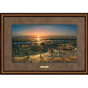 Best Friends by Terry Redlin Framed Painting Print by Wild Wings