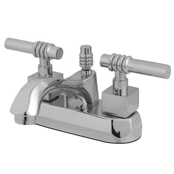 Lavatory Centerset Bathroom Faucet With Drain Assembly By Kingston Brass
