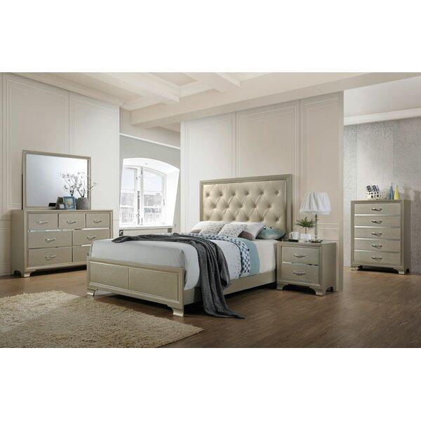 Zed Panel Configurable Bedroom Set by House of Hampton