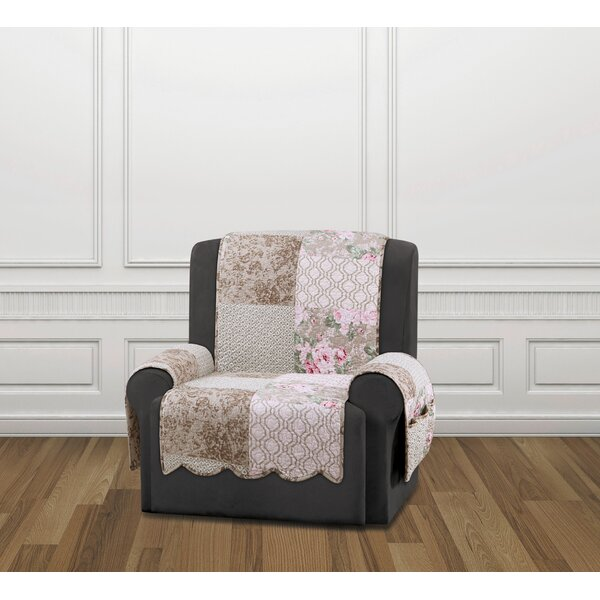 Heirloom Quilted Prewashed Cotton Recliner Slipcover by Sure Fit