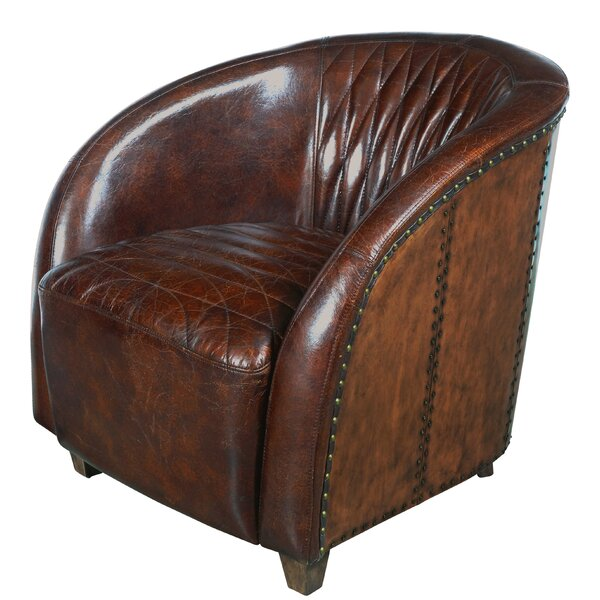 Sheldon Quilted Leather Club Chair
