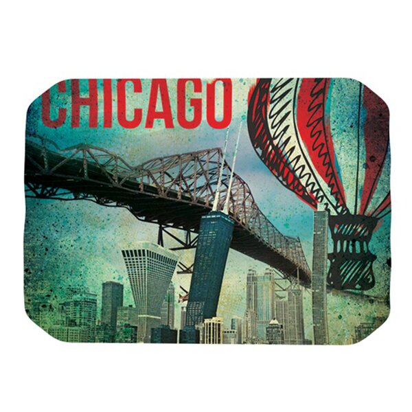 Chicago Placemat by KESS InHouse