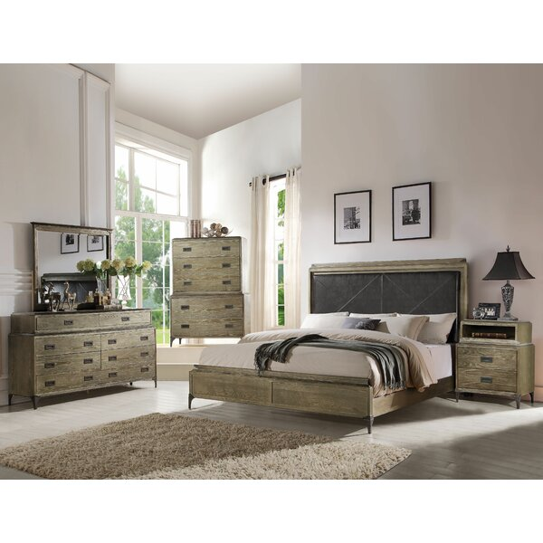 Cosima Upholstered Panel Configurable Bedroom Set by Gracie Oaks