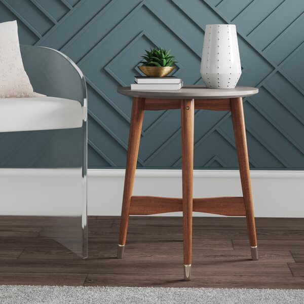 West Hewish End Table By Mercury Row