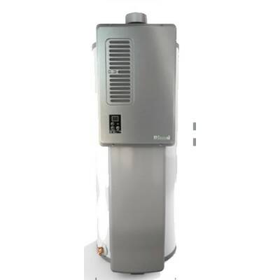rinnai .4 gpm hybrid tank liquid propane tankless water heater | wayfair