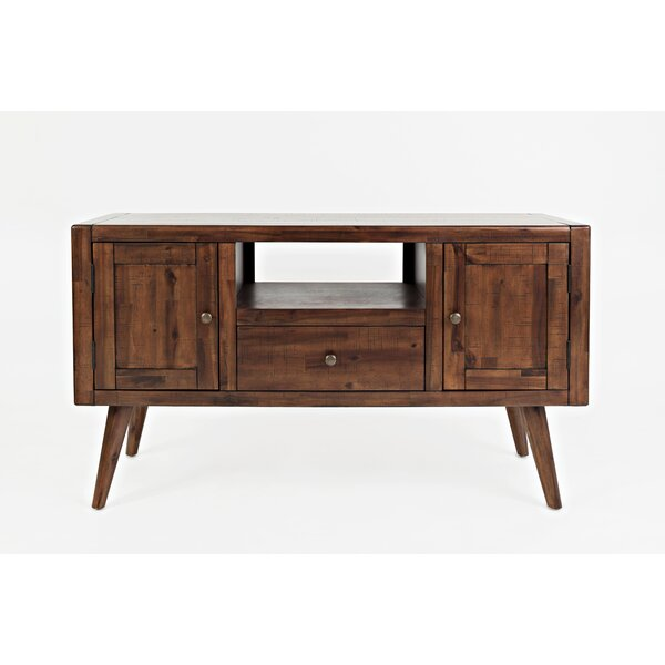 Carey Contemporary and Trendy Media Console Table by Millwood Pines