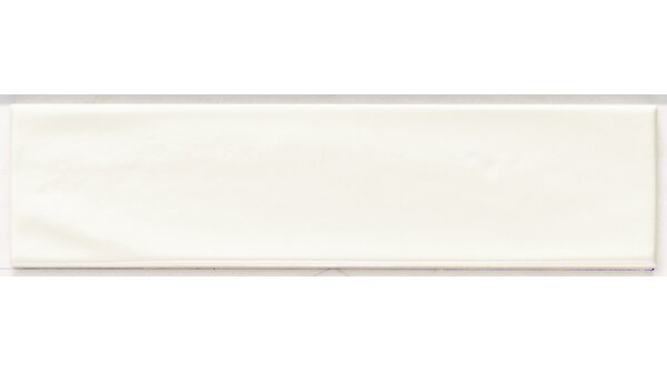 Mason 3 x 12 Ceramic Subway Tile in Matte White by Walkon Tile