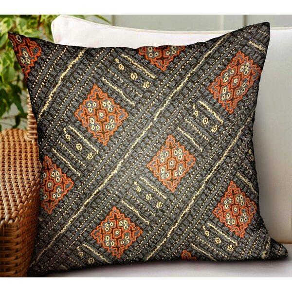 Maday Geometric Luxury Indoor/Outdoor Throw Pillow