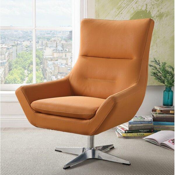 Winningham Swivel Wingback Chair