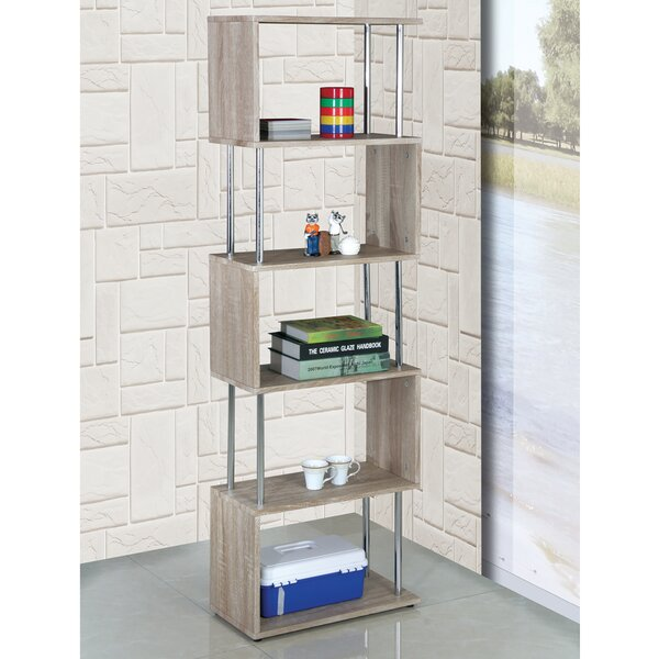 Adrianna Shelf Snake Cube Unit Bookcase by Wade Logan