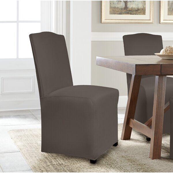 Serta Reversible Stretch Suede Dining Chair Slipcover (Set of 6) by Serta