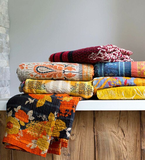 Roepke Upcycled Throw by Bloomsbury Market