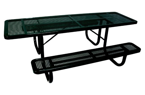 Extra Heavy Duty ADA Picnic Table with Perforated Pattern by Ultra Play