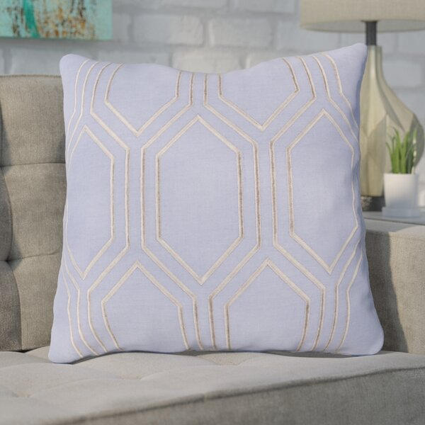 Lambda Down Fill Linen Throw Pillow by Mercury Row