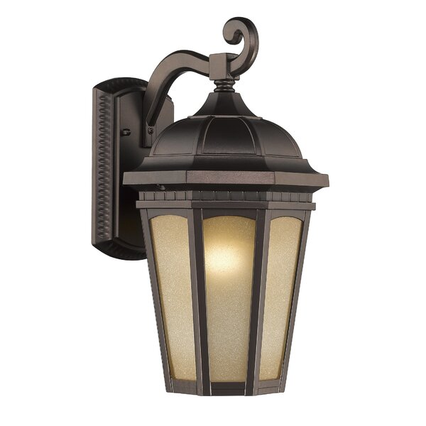Goodrich 1-Light Outdoor Wall Lantern by Alcott Hill