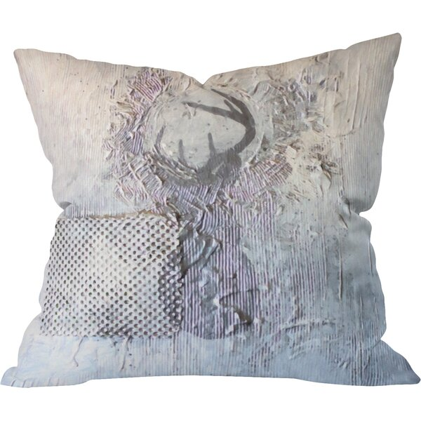 Kent Youngstrom Holiday Deer Indoor Throw Pillow by Deny Designs