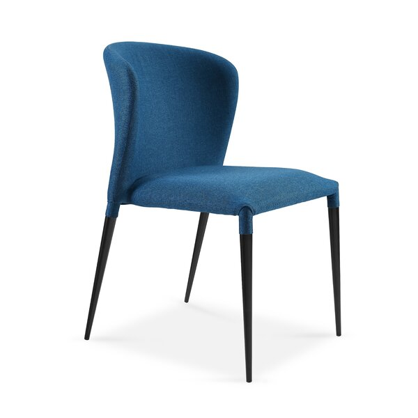 Shingleton Upholstered Dining Chair (Set of 4) by Orren Ellis